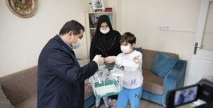 Cumhurbaşkanı Erdoğan'dan 10 yaşındaki Miraç'a bayram hediyesi