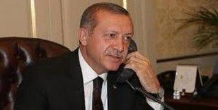Cumhurbaşkanı Erdoğan, Azerbaycan Cumhurbaşkanı Aliyev telefonda görüştü