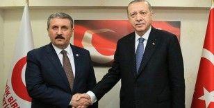 Destici'den Cumhurbaşkanı Erdoğan ve siyasi parti liderlerine bayram telefonu