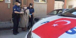 Şehit annesinin dileğini polis evlatları yerine getirdi