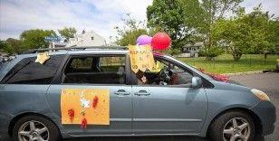 ABD'de Müslümanlar Kovid-19 nedeniyle 'arabada' bayramlaştı