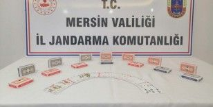 Mersin'de restoranda kumar oynayan 10 kişi suçüstü yakalandı