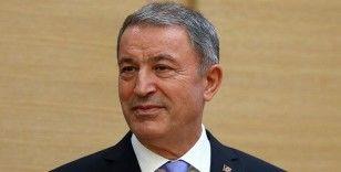 Milli Savunma Bakanı Akar: 1 Ocak'tan itibaren 1458 terörist etkisiz hale getirildi