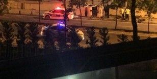 Sancaktepe'de korkutan kaza