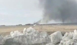 Rusya'da askeri helikopter düştü