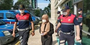 Samsun'da FETÖ'den gözaltına alınan kadın tutuklandı