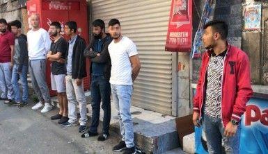 İstanbul'da kısıtlamayı delen 8 kişiye 25 bin 200 lira ceza