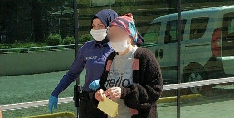 Temizlik yaptığı evden hırsızlıktan gözaltına alındı