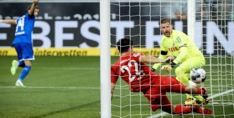 Hoffenheim, 7 maç sonra galibiyetle tanıştı