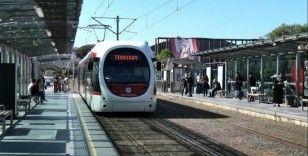 Korona günlerinde tramvay yolcu sayıları yüzde 87 azaldı
