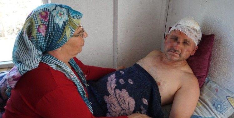 Taciz ettiği iddiasıyla karı-koca tarafından öldüresiye dövülen ...