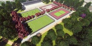 Trabzon'da yapımı devam eden Millet Bahçesi eylül ayında açılacak