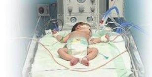 Yoğun bakımdaki 50 günlük Ali Eymen bebek sağlığına kavuştu