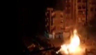 Kahire'de doğal gaz boru hattında patlama