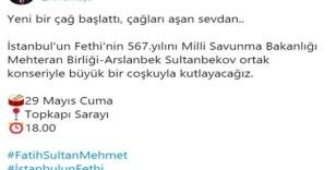 Vali Yerlikaya'dan İstanbul'un Fethi'nin 567. yılına ilişkin paylaşım