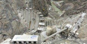 Türkiye'nin en yüksek barajı 205 metreye ulaştı