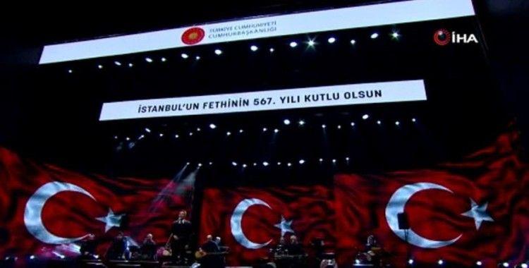 Cumhurbaşkanlığından İstanbul'un fethinin 567. yılına özel mest eden konser