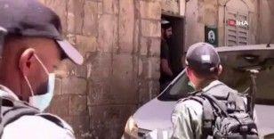 İsrail polisi Filistinli kadın aktivist Hanadi el-Halavani'yi gözaltına aldı