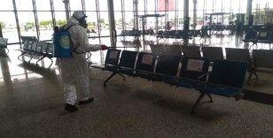 Terminallerde tüm tedbirler alındı