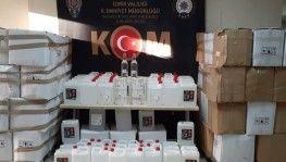 İzmir'de iki ayrı depoya baskın