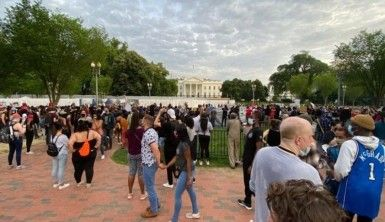 Washington'da Floyd protestosu