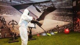 Beşiktaş, stadını dezenfekte ettirdi