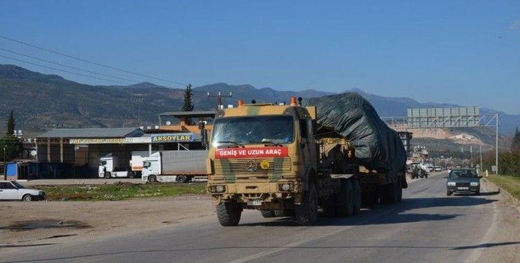 Suriye sınırına obüs ve mühimmat sevkiyatı