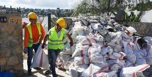 Yılmaz Özdil'in evinin yıkımı devam ediyor