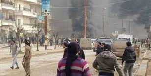 Afrin'de bomba yüklü araçla saldırı: 5 yaralı