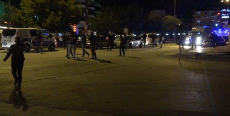 Kırıkkale'de silahlı kavga: 2'si polis 7 yaralı