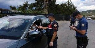 Bodrum'a 14 saatte 7 bin 980 araç giriş yaptı