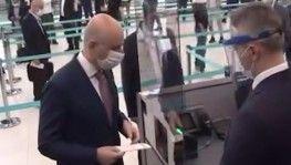 Kısıtlamalar sonrası ilk uçuş Ankara'ya