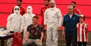 Sivasspor'a 3. kez koronavirüs testi yapıldı