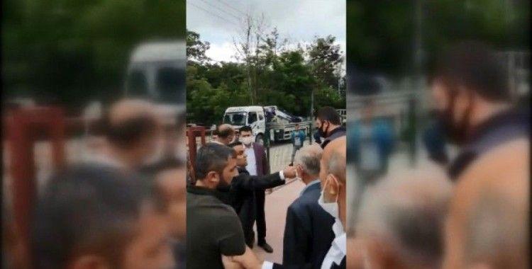 Kaçak bina yıkımda zabıta memuruna yumruklu saldırı