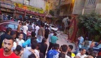 Mısır'da balkon çöktü