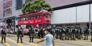 Hong Kong Baş Yöneticisi Lam'den yabancı hükümetlere 'çifte standart' eleştirisi