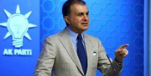 AK Parti Sözcüsü Çelik: Ne ırkçılık ne şiddet ikisine de karşıyız