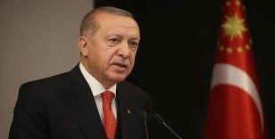 Erdoğan: Türkiye, salgının başından bu yana küresel dayanışmanın altını çizmiştir