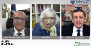 Selçuk, Alev Alatlı ile Kapadokya Üniversitesi'nin canlı yayın konuğu oldu