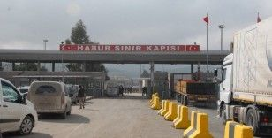 Habur Sınır Kapısındaki temassız ihracat bugün sona eriyor
