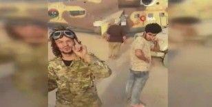UMH güçleri, Hafter'e ait savaş helikopterini ele geçirdi