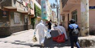 18 kişide koronavirüs çıktı, 3 sokak karantinaya alındı