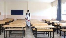 İstanbul'da okullar LGS sınavı öncesi temizlendi