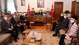 BİK'den Kastamonu Valisi Yaşar Karadeniz'de ziyaret