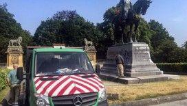 Belçika'da sömürgeci Kral 2. Leopold'un bir heykeli daha tahrip edildi