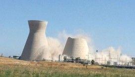 İsrail'de soğutma kulesi çöktü