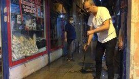 15 Temmuz Demokrasi Otogarı'nda çarşıları su bastı