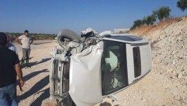 Gaziantep'te 2 araç çarpıştı: 3 yaralı