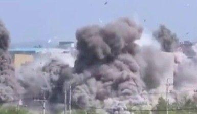Kuzey Kore, irtibat bürosunun havaya uçurulması görüntülerini yayınladı