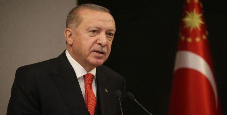 Cumhurbaşkanı Erdoğan, Bakan Selçuk ve beraberindeki heyeti kabul etti